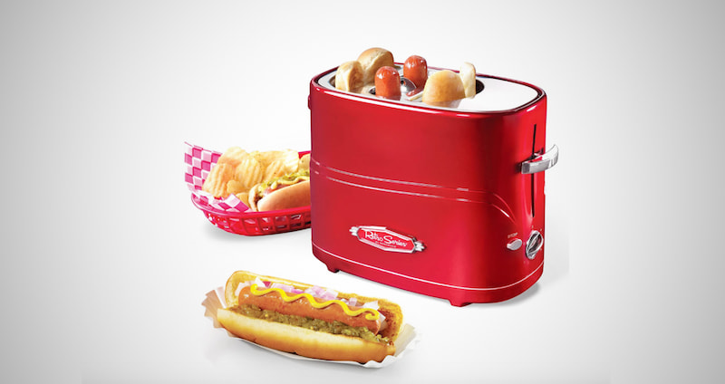Pop-Up 2 Hot Dog and Bun Toaster