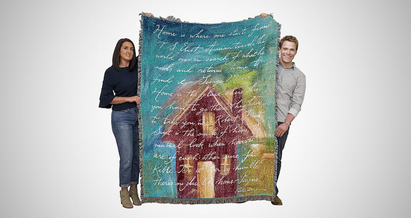 Housewarming Throw Blanket