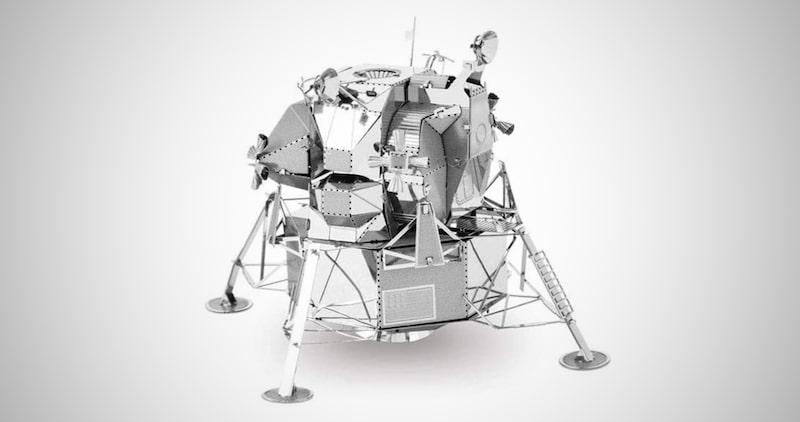 Apollo Lunar 3D Metal Model Kit