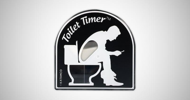 Toilet Timer for Men