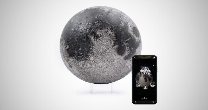 LUNAR Pro Smart Moon Globe