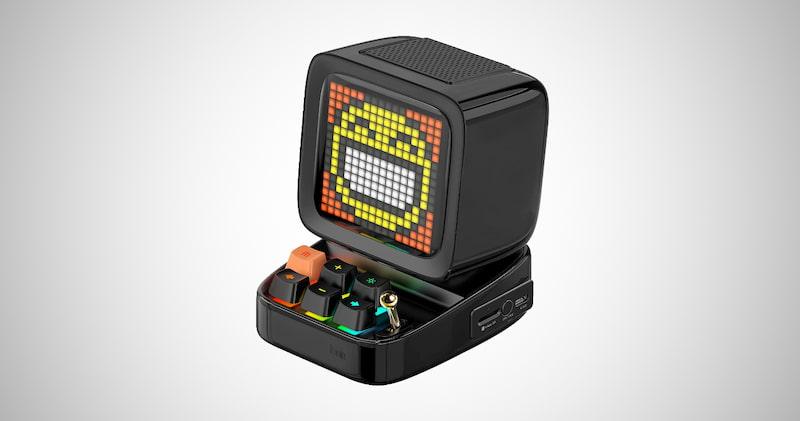 Divoom Retro Pixel Art Game Speaker