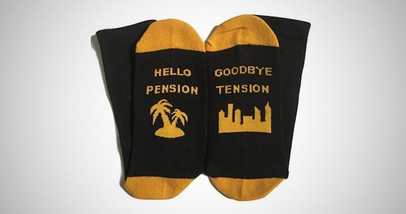 Funny Retirement Socks