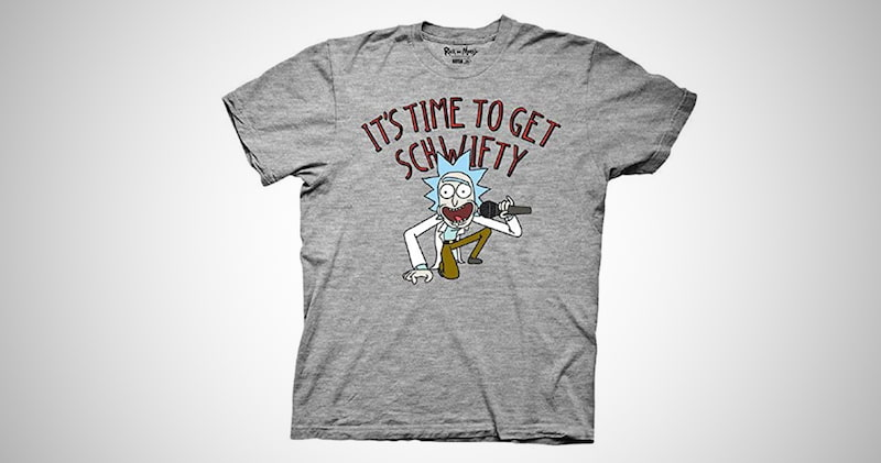 It's Time to Get Schwifty T-Shirt