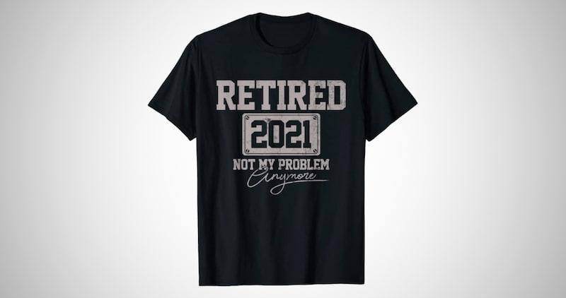 Funny Men's Retirement T-shirt