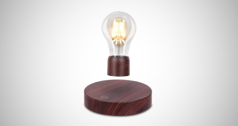Magnetic Levitating LED Light Bulb