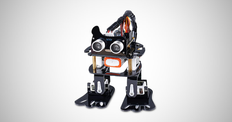 Programmable DIY Robot Kit