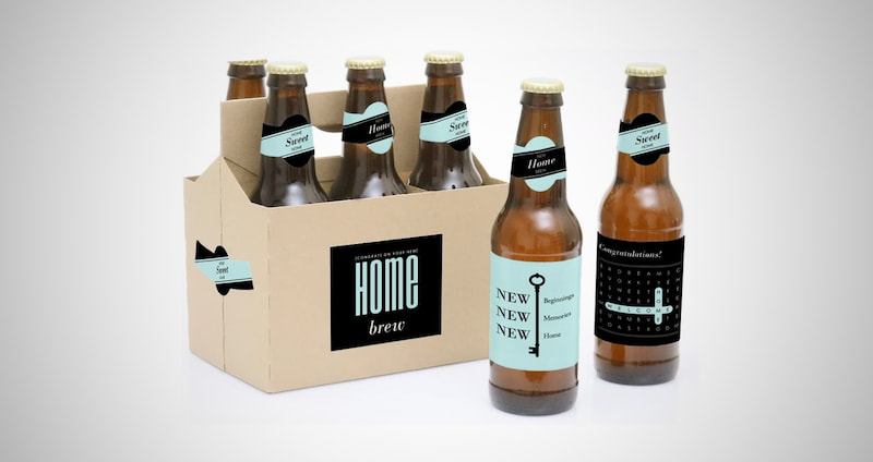 Beer Bottle Label Stickers