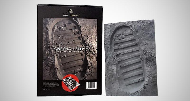 One Small Step Apollo 11 Boot Print Replica