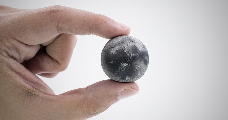 Handmade Natural Gemstone Desk Planets