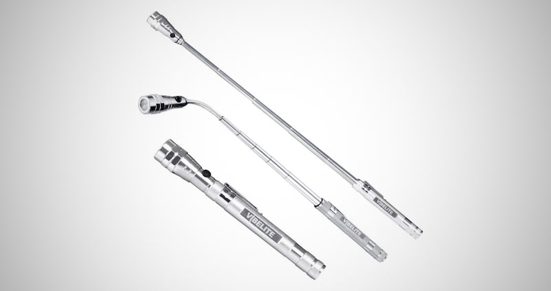 3 LED Magnetic Pickup Tool