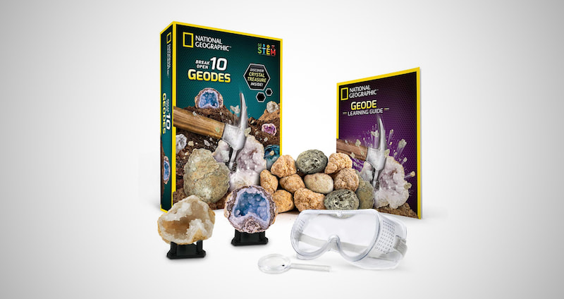 Mega Fossil and Gemstone Dig Kits