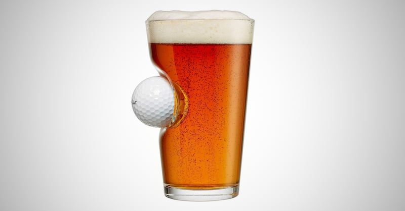 Novelty Golf Beer Glass