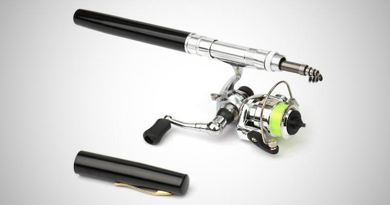 Pen Fishing Rod Reel Combo Set