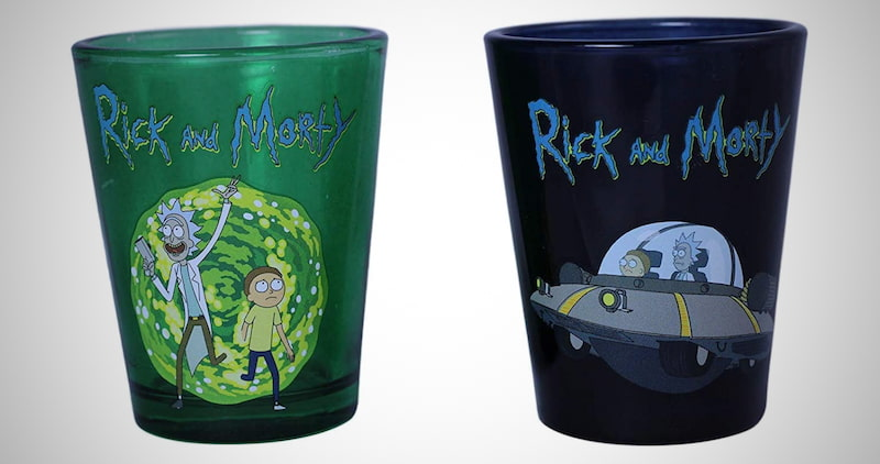 Rick and Morty Exclusive Pint Glass