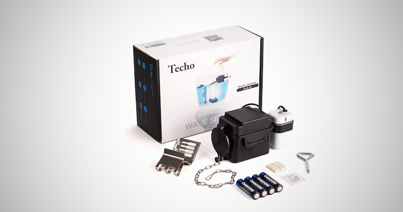Techo Touchless Toilet Flush Kit