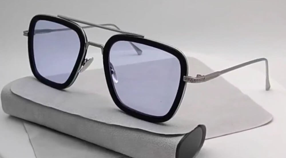 Tony Stark Glasses & Peter Parker Edith Glasses