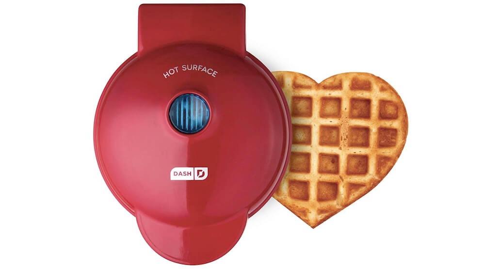 Heart shape Mini Waffle Maker