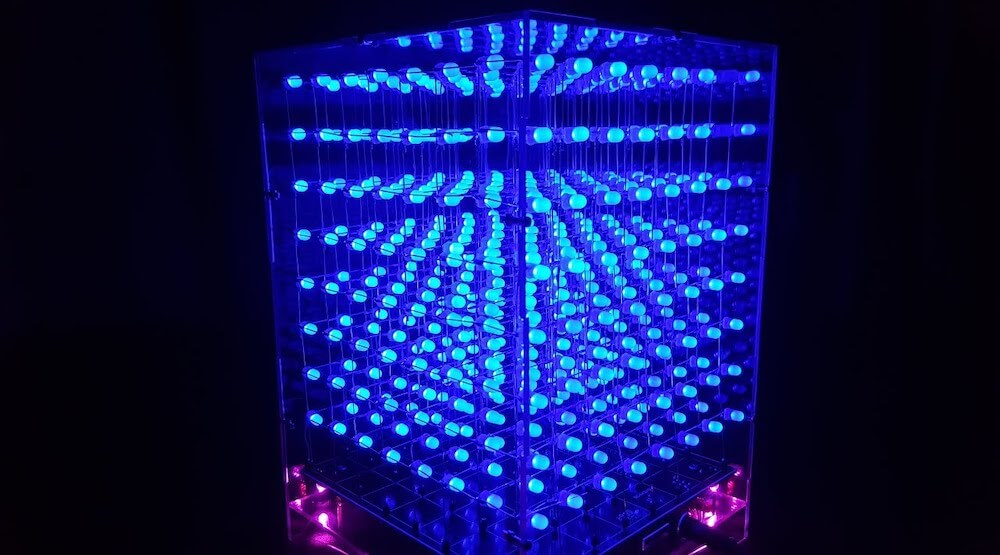 3D Led Cube Light DIY Kit