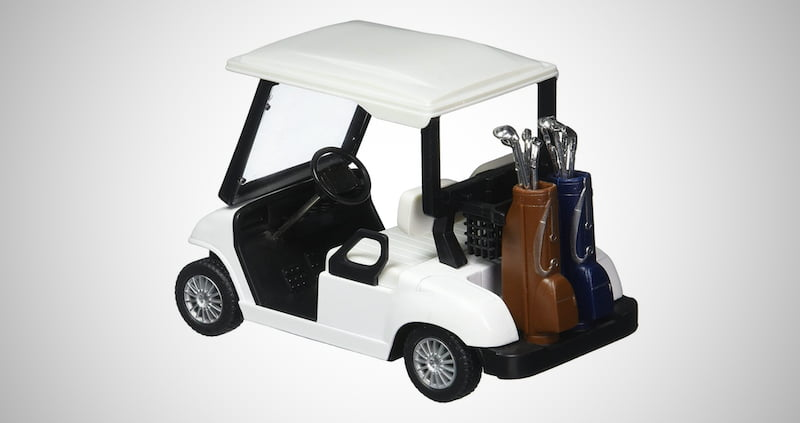 Pull Back Action Golf Cart