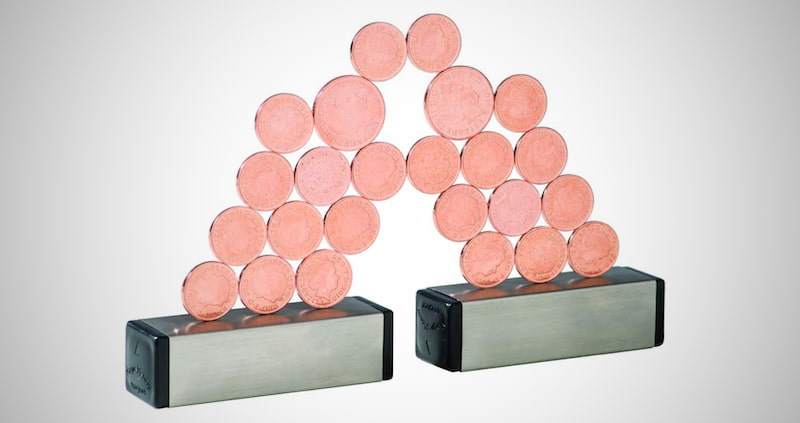 Magnetic Penny Game