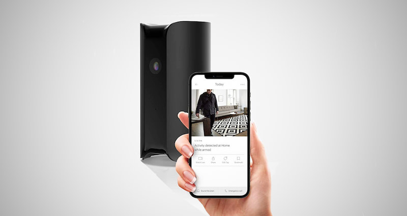 All-in-One Indoor Security Camera