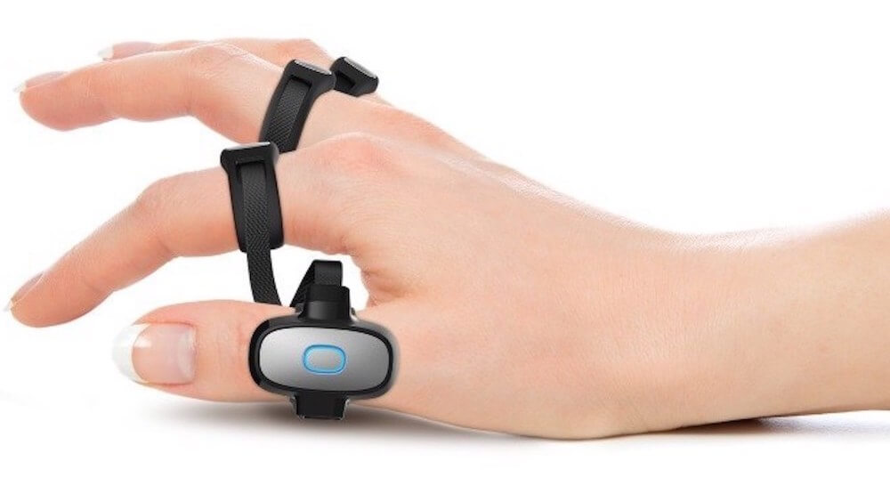 Tap Strap Bluetooth Wearable Keyboard & Mouse