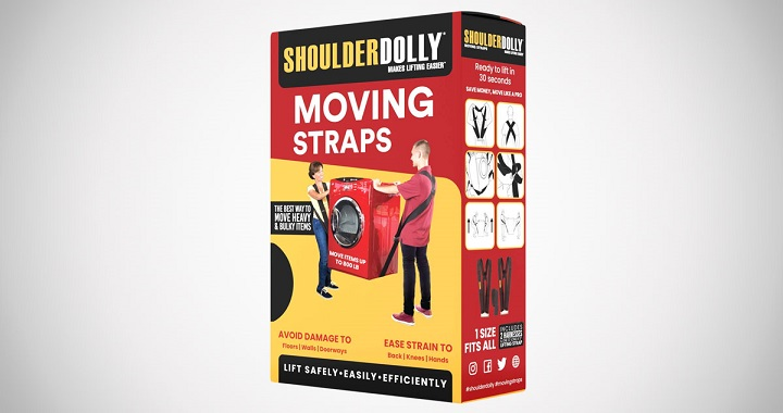 Shoulder Dolly Moving Straps