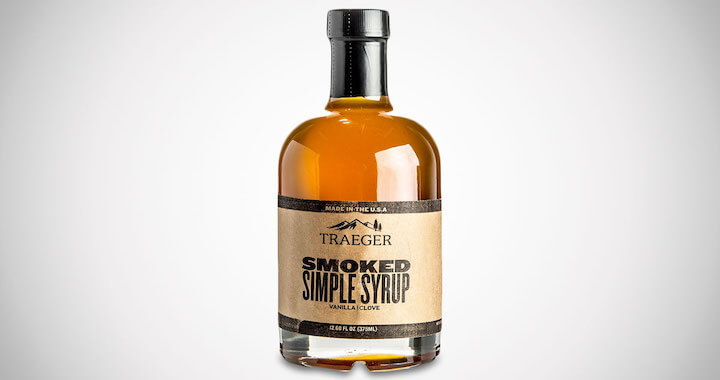 Traeger Smoked Simple Syrup Cocktail Mixer