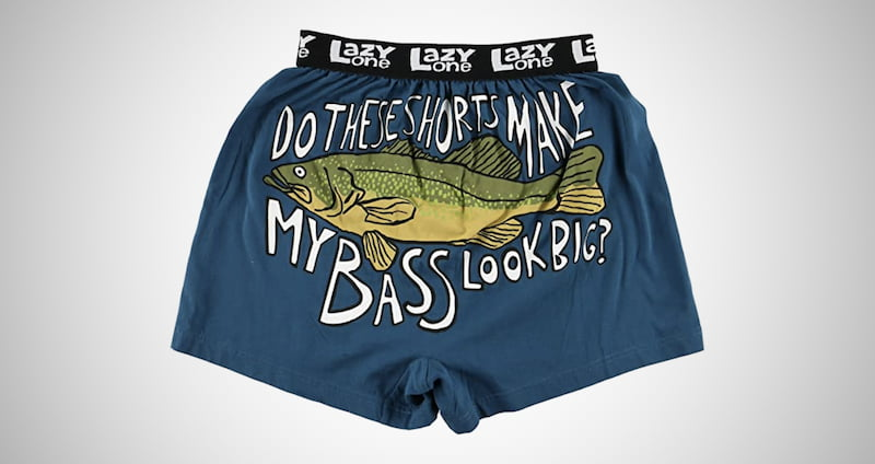 Lazy One Funny Men's Boxers