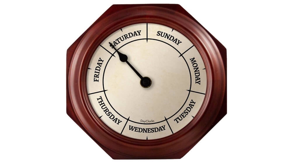Fun Retirement Gift Clock for Men