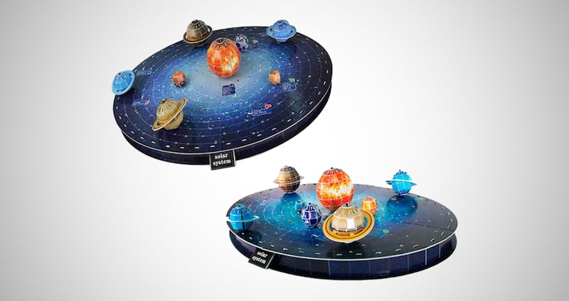 Outer Space 3D Planets Puzzle