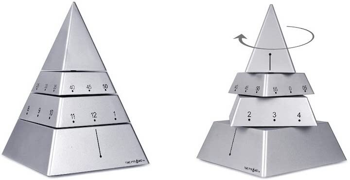 Time Pyramid Clock