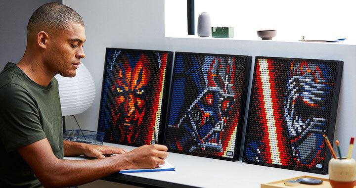 LEGO Star Wars Art