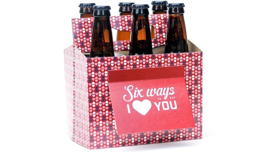 I Love You Beer Carrier