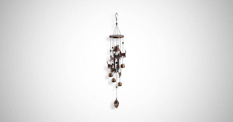 Cats Wind Chime