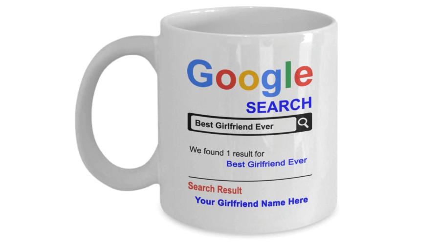Personalized Girlfriend Mug