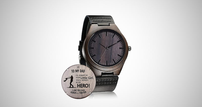 Customized Engraved Wooden Watch