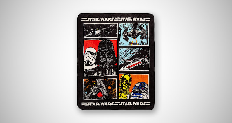 Star Wars Official Throw Blanket