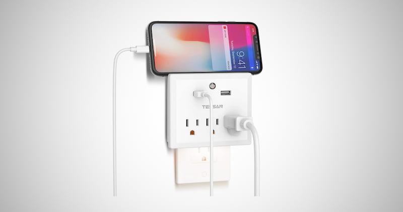 Multi Plug Outlet Extender