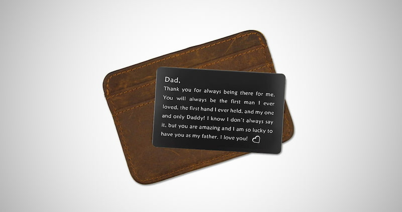 Wallet Insert for Father