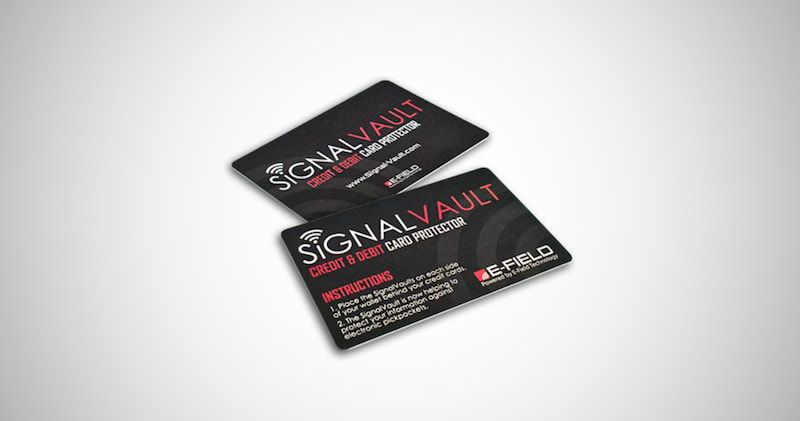 SignalVault Credit Card Protector