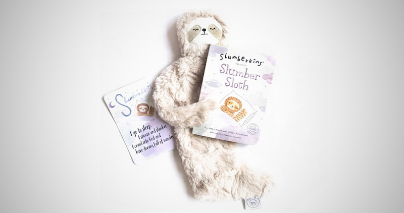 Slumber Sloth Snuggler & Book