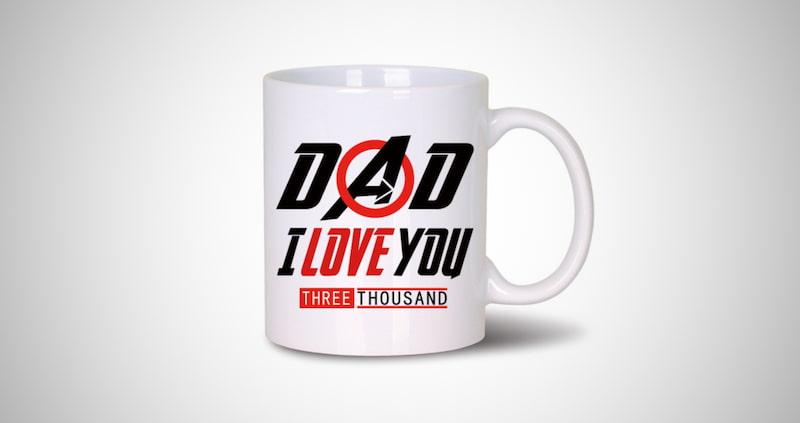 I Love You 3000 Coffee Mug