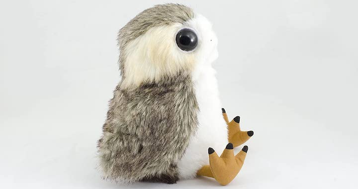 Life-Sized Interactive Action Porg Plush