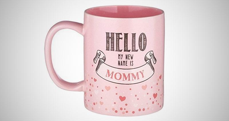 Hello My New Name is Mommy Mug