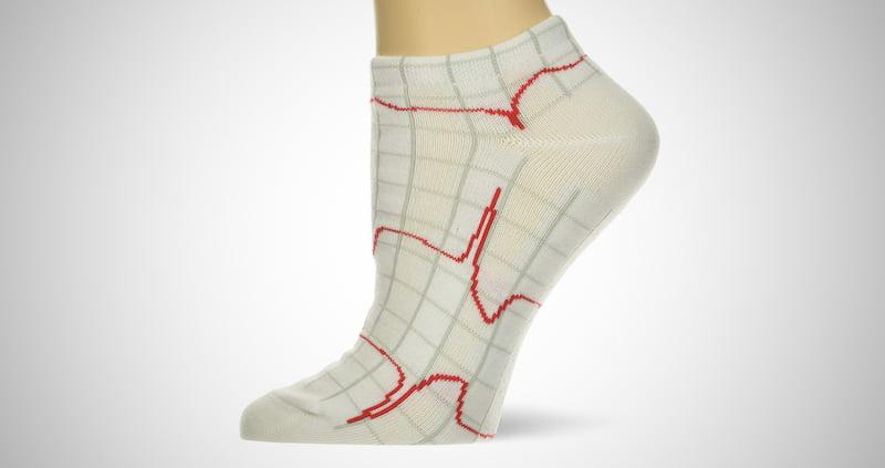 Heartbeat Nurse Socks