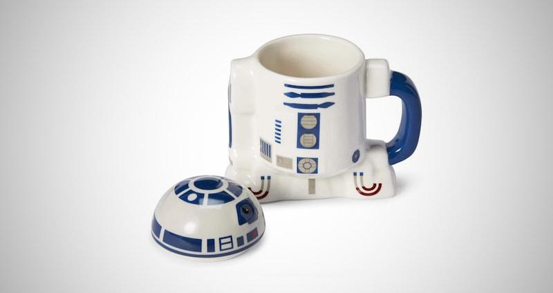 R2-D2 Mug with Metal Hinge