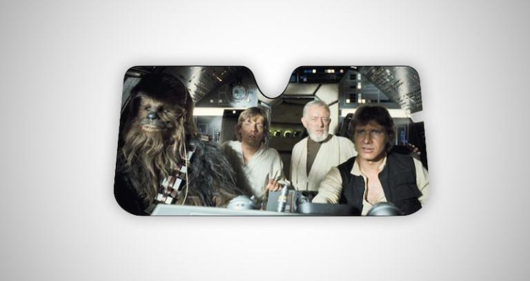Star Wars Accordion Sunshade