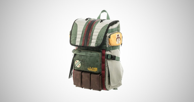 Boba Fett Mandalorian Suit Up Laptop Backpack